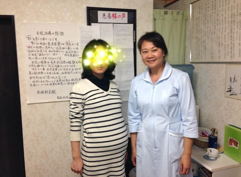 【不妊治療】「村林先生の不妊症治療を一年半ほど続けて妊娠できました。」