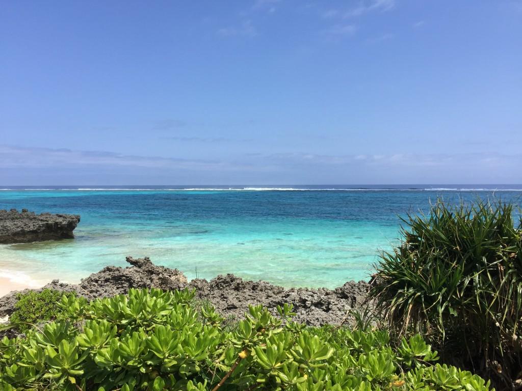 連休中に鹿児島の与論島に行って来ました